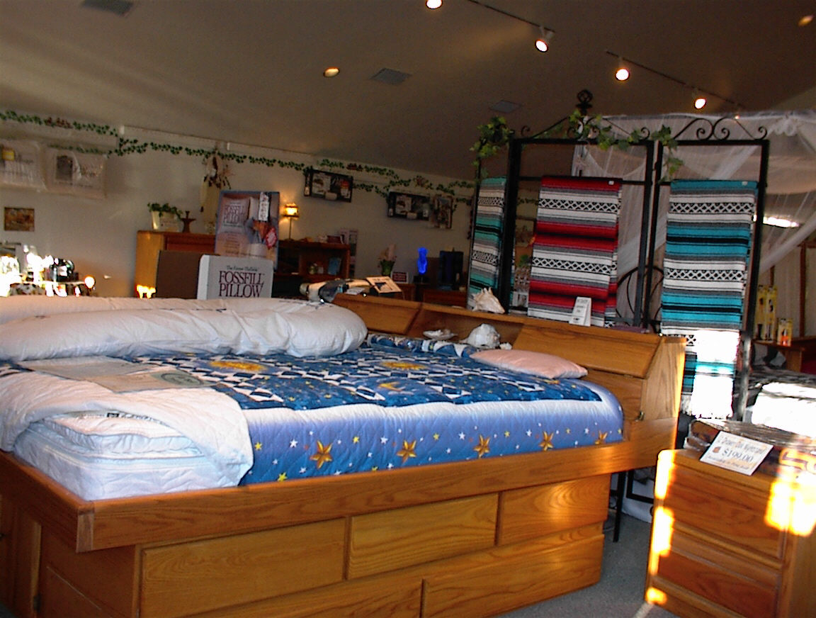 Contemporary Platform Bed Country Waterbed Store